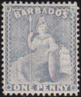 Barbados        .    SG   .    74  (2 Scans)         .     *     .  Mint-hinged   .   /   .  Ongebruikt - Barbados (...-1966)