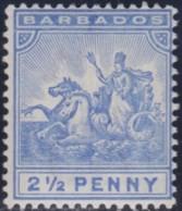 Barbados     .    SG   .   109       .     *      .      Mint-hinged     .   /   .   Ongebruikt - Barbados (...-1966)