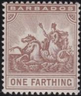 Barbados     .    SG   .   163       .     *      .      Mint-hinged   .   /   .   Ongebruikt - Barbados (...-1966)