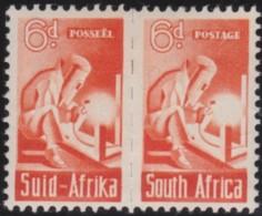 South Africa     .    SG   .   102  Paire       .     *     .       Mint-hinged    .   /   .   Ongebruikt - Ungebraucht