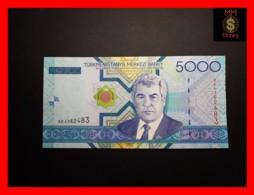 TURKMENISTAN 5.000 5000 Manat 2005 P. 21  UNC - Turkmenistan