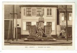 BRUMATH - Monument Aux Morts - Bon état - Brumath
