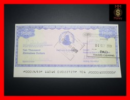 ZIMBABWE 10.000  10000 $  2003  Travellers Cheque P. 17   UNC - Simbabwe