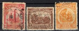 COLOMBIA - 1932 - POZZI DI PETROLIO, COLTIVAZIONE DEL CAFFE', MINIERA D'ORO - USATI - Colombia
