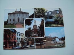 Virginia  Alexandria  Multi Vieuw Card - Alexandria