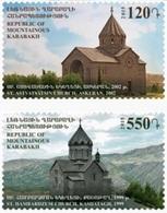 Nagorno-Karabakh 2015, Churches, MNH Stamps Set - Armenia