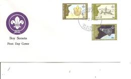 Scoutisme ( FDC De Tanzanie De 1992 à Voir) - Movimiento Scout
