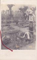 ( 62 ) -  Neuville-Saint-Vaasr Friedhof Cimetière  Carte Photo Allemande 1° Guerre - Frankreich