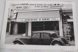 CPM Boucherie BOEUF Paris Photo Bonnel Dépot 1984 - Geschäfte