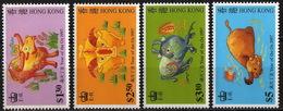 HongKong - #780-83(4) - MNH - Hong Kong (...-1997)