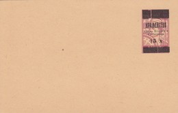 Bosnia Herzegovina SHS 1919 Provisory Postal Stationery, Mint - Bosnia Erzegovina