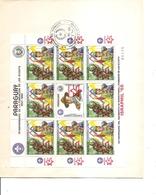 Scoutisme ( FDC Du Paraguay De 1985 à Voir) - Scoutisme