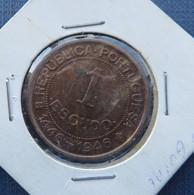 Guiné Bissau Portugal  1 Escudo 1946 - Guinea-Bissau