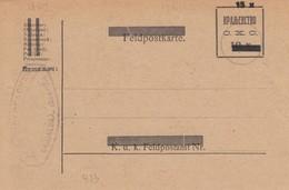 Yugoslavia Kingdom SHS 1919 Provisional Postal Stationery, Mint - Postal Stationery