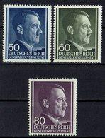 Generalgouvernement 1943 // Mi. 110/112 ** - Occupation 1938-45