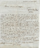 Lettre D'un Prêtre De Fontenay-le-Comte à Un Confrère De Poitiers, 26/3/1803 - Documents Historiques