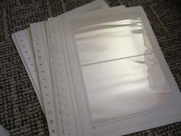 13 KABE-Blätter Mit Je 2 Taschen Für Briefe - Blank Pages