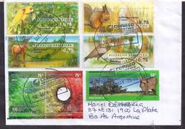 Argentina - 2020 - Lettre - Faune - Parcs Nationauxs - Timbre Diverse - Argentine
