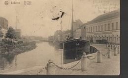 PK 13/    LOKEREN   DE KAAI   1919 - Cartes Postales