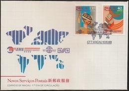 Macau Macao Chine FDC 1988 - Novos Serviços Postais - New Postal Services - MNH/Neuf - Macau