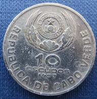Cabo Verde 10 Escudos1977 - Cap Verde