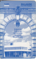 POLAND - 600th Anniversary Of The Krakow Academy 1400-2000, Krakow Transport Ticketcard, Used - Non Classificati