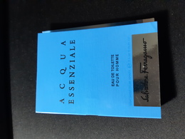Campione Echantillon Parfum Salvatore Ferragamo Acqua Essenziale - Perfume Samples (testers)