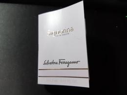 Campione Echantillon Parfum Salvatore Ferragamo Signorina - Perfume Samples (testers)