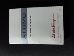 Campione EchantillonSalvatore Ferragamo Parfum ATTIMO Pour Homme - Perfume Samples (testers)