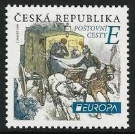 "CHECA REP. / CZECH REP. / CESKA REP. - EUROPA 2020 - ""ANTIGUAS RUTAS POSTALES - ANCIENT POSTAL ROUTES"" -- SERIE N - 2019"