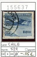Chile - Michel 524 - Oo Oblit. Used Gebruikt - Chile