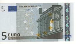 "5 EURO  ""V""   SPAGNA   Firma Duisenberg    M 001 B1   /  FDS - UNC - EURO"