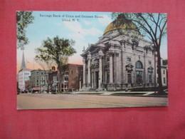 Savings Bank  Genesee Street   Utica  New York    Ref 4073 - Utica
