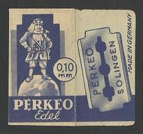 Razor Blade PERKEO Old Vintage WRAPPER (see Sales Conditions) - Razor Blades