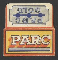 Razor Blade PARC  Old Vintage WRAPPER (see Sales Conditions) - Razor Blades