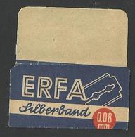 Razor Blade ERFA Old Vintage WRAPPER (see Sales Conditions) - Razor Blades