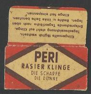 Razor Blade PERI Old Vintage WRAPPER (see Sales Conditions) - Razor Blades