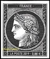 France N° 5305 ** 170 Ans Du Premier Timbre-poste Français Cérès, Pour Lettre TVP Verte - Unused Stamps