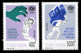 No. 2997-2998  Vietnam 1999  Protection Of Children - Vietnam