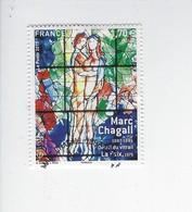 Série Artistique Personnalité Marc Chagall 5116 Oblitéré 2017 - Oblitérés