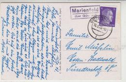 LANDPOST Marienfeld über Gütersloh 16.8.43 AK-Marienfeld - Brieven En Documenten