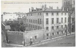 Grenoble Université De Grenoble (Annexe) Institut De Géologie Et De Géographie Alpine (A. Michel Photo Grenoble) - Grenoble