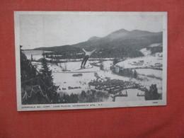 New York > Adirondack    Intervale Ski Jump  Lake Placid  Ref 4075 - Adirondack