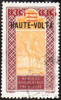 Haute Volta Obl. N° 20 - Targui Surchargé 0,05 Sur 15c - Oblitérés