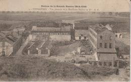 PAS DE CALAIS COURRIERES VUE GENERALE DE LA DISTILLERIE THILLOY ET Cie RUINES DE LA GRANDE GUERRE 1914-1918 - Autres Communes