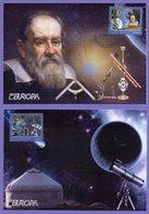 Kazakhstan 2009. Maxicard. Europa 2009. Astronomy. Maximum Cards. - Europa-CEPT