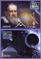 Kazakhstan 2009. Maxicard. Europa 2009. Astronomy. Maximum Cards. - Kazakhstan