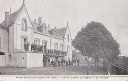 CREPEY                                  Colonie Scolaire                  La Terrasse - Francia