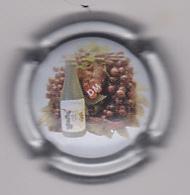 Capsule Champagne DELOUVIN_MOREAU ( 27a ; Contour Argent ) {S21-20} - Champagne