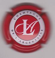 Capsule Champagne DE L'ARGENTAINE ( 11 ; Rouge Et Blanc ) {S21-20} - Champagne